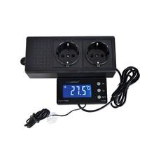 TC-320 16-40C Digital Aquarium Thermostat Cool Heat Auto Switching ON OFF Regulator Temperature Controller AU EU UK US Plug цены