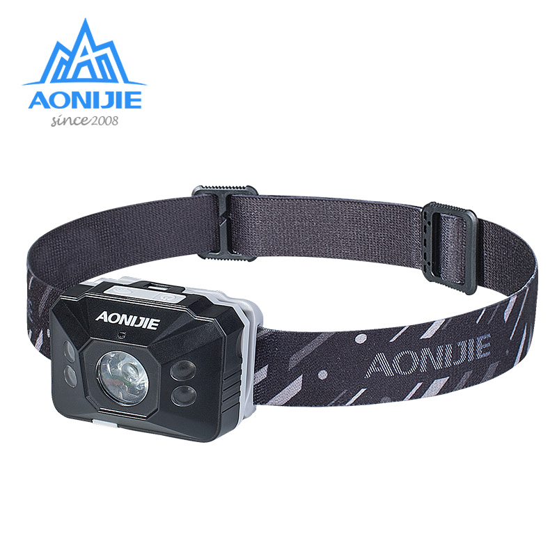 AONIJIE E4097 Waterproof Rechargeable Sensitive LED Headlight Headlamp Flashlight Light Running Fishing Camping Hiking Cycling