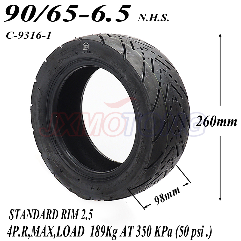 90/65-6.5 Front Tyres for 47cc/49cc 2 stoke air cooled Mini pocket bike Mini Motor Motor Wheel Spare Parts 49cc