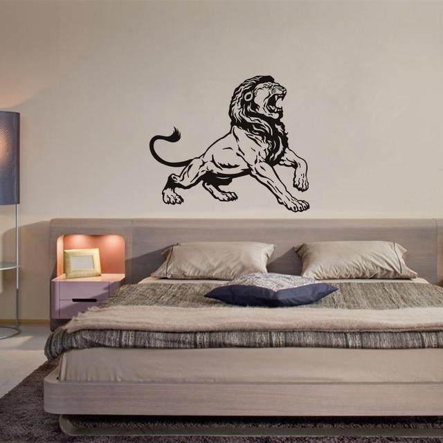 Jungle Lion King Decalcomanie Della Parete, bambini Adesivi da ...