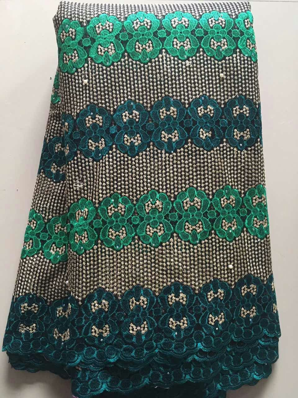 Wholesale latest styles green nigeria african tulle lace for Bulk sewing material