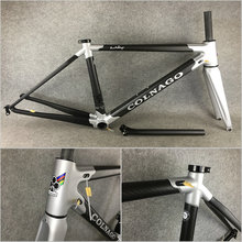 T1000 3K all Matte Silver-Black Colnago C60 carbon road frame bicycle Frameset C60 With XS/S/M/L/XL for your selection(China)