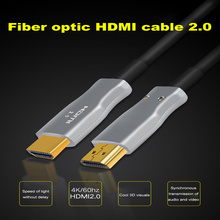 цены на Hdmi Fiber 4K 60Hz HDMI Cable Fiber Optic 2.0 2.0a HDR for HD TV Box Projector PS4 Cable HDMI 2M 3M 5M 10m 15M 30M 50M-100M  в интернет-магазинах