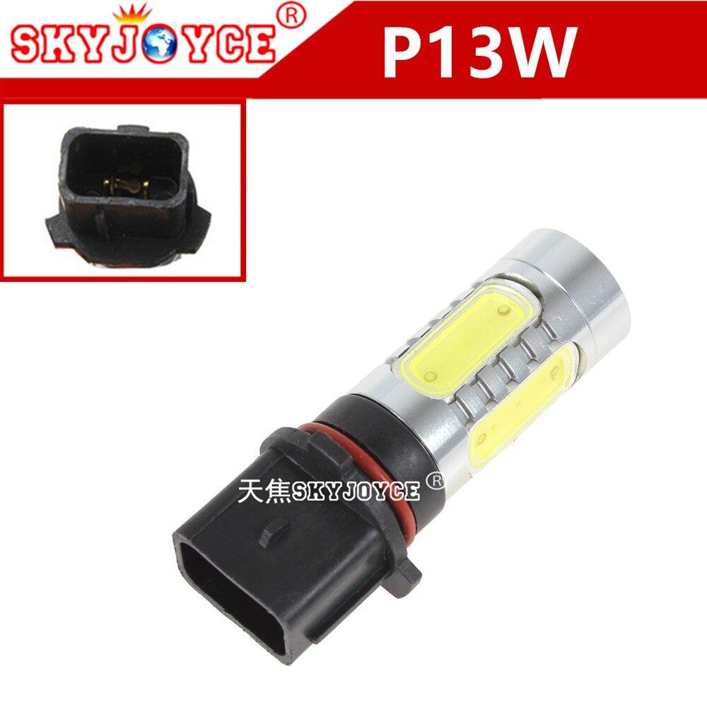 1 X P13W светодиодные противотуманные ксеноновая лампа белый/желтый 3000 К УДАРА фишек источник автомобиль 5502 розетки адаптер адаптер P13W автомо...