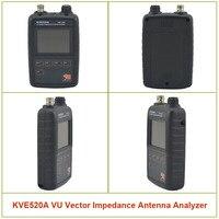 KVE520A VHF/UHF VU векторное сопротивление анализатор антенны с 5 шт. адаптеры для любительских радиоприемников KVE 520A
