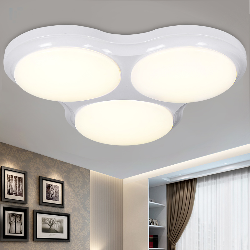 Brief modern led ceiling light console balcony mosquito