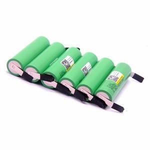 Image 4 - Liitokala 100% מקורי 18650 2500 mah bateria recarregável 3.6 v inr18650 25r m 20a descarga 18650 סוללה + níquel diy