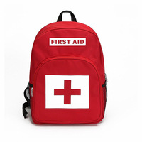 Large Capacity First Aid Backpack Water Resistant Empty Bag Wound Treatment Outdoor Camp Hiking Travel Emergency Kit Accessories