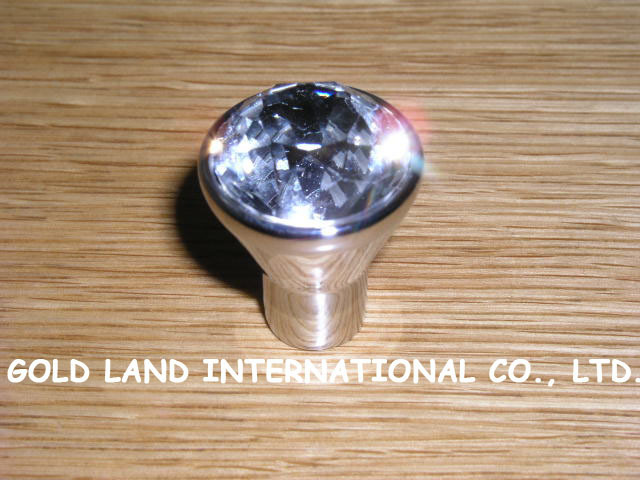 D20mm Free shipping K9 crystal glass furniture drawer knob