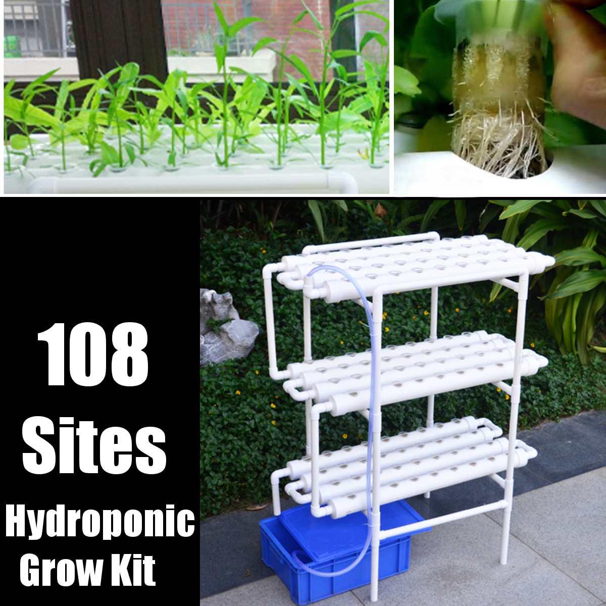 112pc/set 220V Plant Hydroponic…