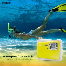 Underwater Waterproof Camera Newest Christmas Gift Best Mini Camera for kids Outdoor Sports Diving 3m Waterproof Action Camera
