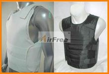 44 מגנום 9mm Bulletproof vest NIJ IIIA הגנה משטרת גוף שריון בליסטי מעיל NIJ0101.06 גודל L XL שחור או לבן צבע