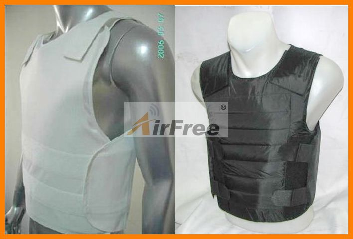44 Magnum 9mm Bulletproof Vest NIJ IIIA Protection Police Body Armor Ballistic Jacket NIJ0101.06 Size L XL Black Or White Color