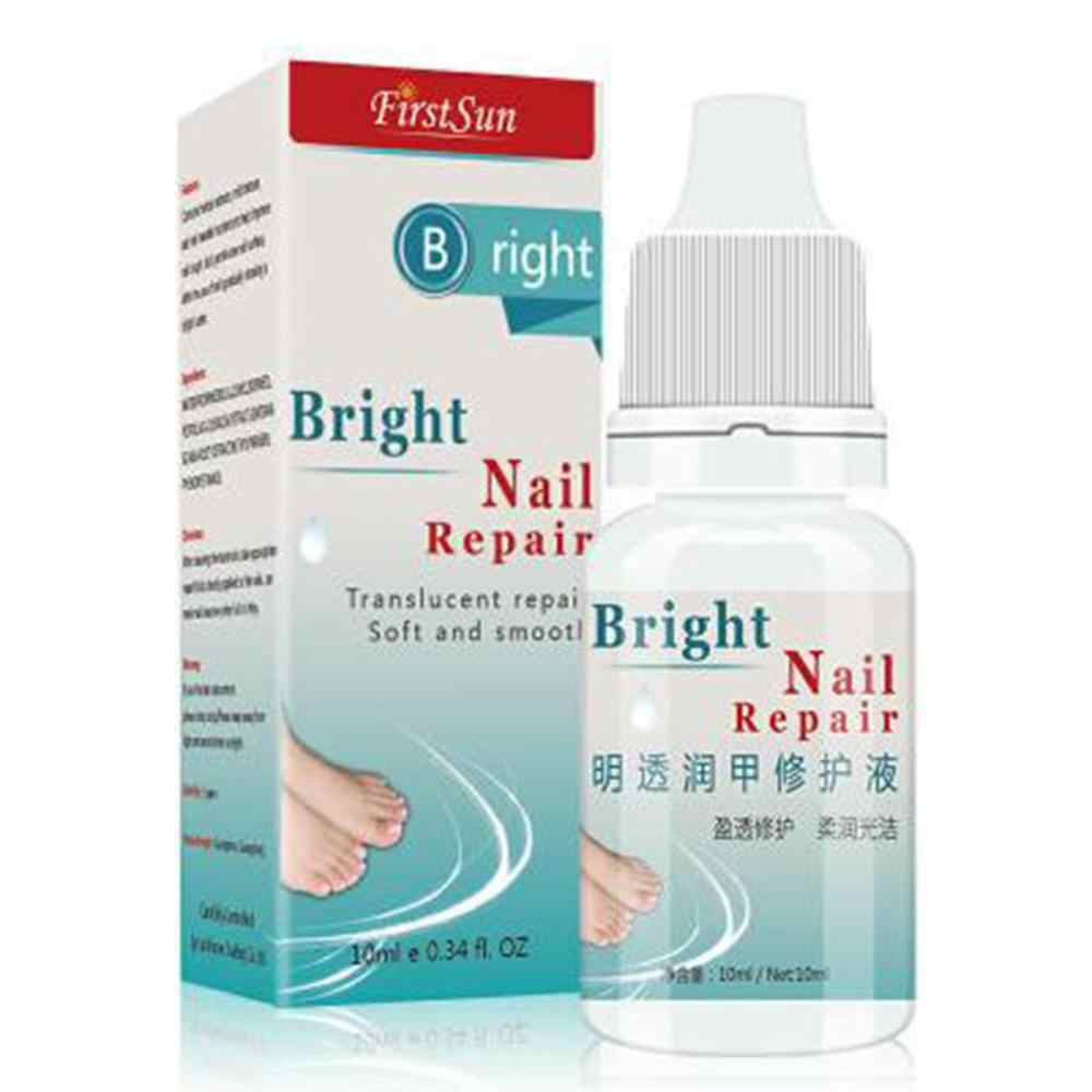 10ml Nail Treatment Smooth Transparent Herbal Natural Sterilization Fungus Removal Nourish Bright Nail Repair Essential Oil