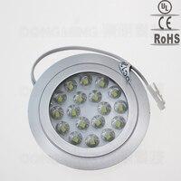 3pcs 18leds SMD 3528 Led Down Light 12V 1 5W Spotlight Recessed Wall Spot Light Cabinet