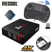 MECOOL УБИТЬ Про DVB T2 Android TV Box 3 Г 16 Г Amlogic S912 Octa Ядро 4 К H.265 Декодирование 2.4 Г + 5 Г Dual Band WiFi BT 4.0 Сми плеер