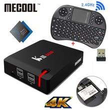 MECOOL KIII Pro DVB T2 Android TV Box 3G 16G Amlogic S912 Octa Core 4 K H.265 Decodificación 2.4G + 5G de Doble Banda WiFi BT 4.0 Los Medios de Comunicación jugador