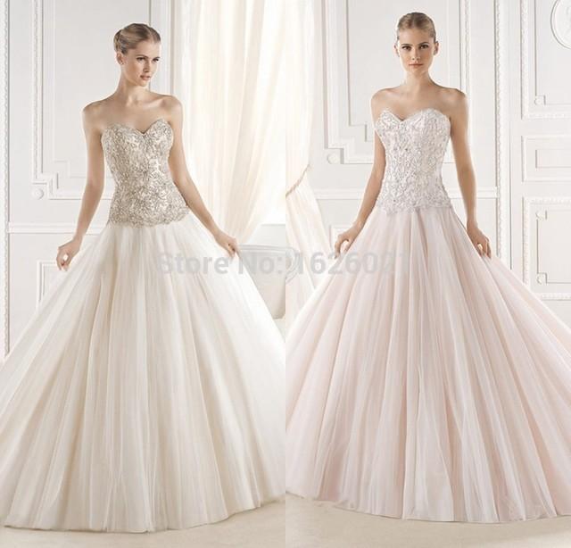 Vestidos elegantes De la boda vestido De Novia Vestidos De Novia ...