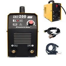 цена на ZX7-200 220V ARC Welding Machine MMA IGBT Welder DC Inverter Welding Machine Soldering Tool