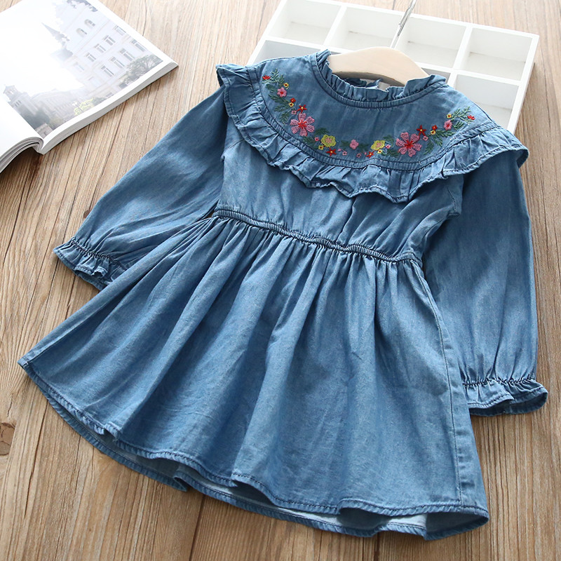 Hurave-O-NECK-embroidery-Dress-Clothes-Children-Long-Sleeve-clothing-Casual-cotton-ruffles-Baby-Girl-Dresses (1)