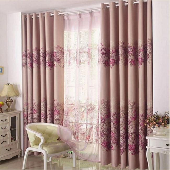 Compra p rpura cortinas de la ventana online al por mayor for Cortinas habitacion matrimonio