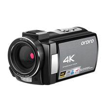 Ordro WIFI AE8 4K וידאו מצלמה דיגיטלי מלא HD מגע מסך IR אינפרא אדום ראיית לילה מצלמה Fotografica מקצועיות למצלמות