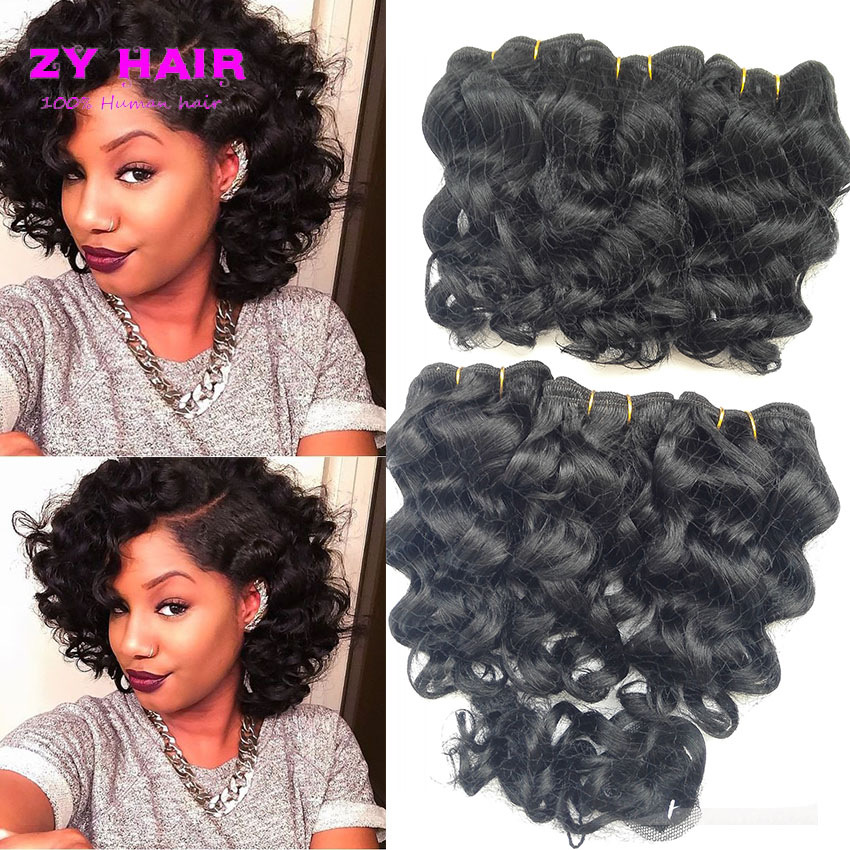 New Summer 8 Short Deep Wave Weave Barato Deep Loose