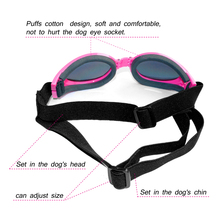 Fashion Pet Puppy Goggles Sunglasses Eye Wear Protection Folding Goggles  5 Colors