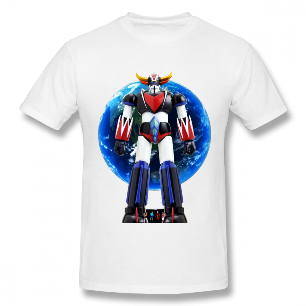 Streetwear Mazinger Z Tees Plus Size 2018 New Fashion T Shirt Male Big Size Stylish Summer For Valentine's Day