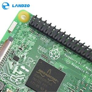 Image 4 - Raspberry Pi 3 стартовый комплект с Raspberry Pi 3 Model B + оригинальный pi 3 чехол + радиаторы pi3 b / pi 3b с wifi и bluetooth