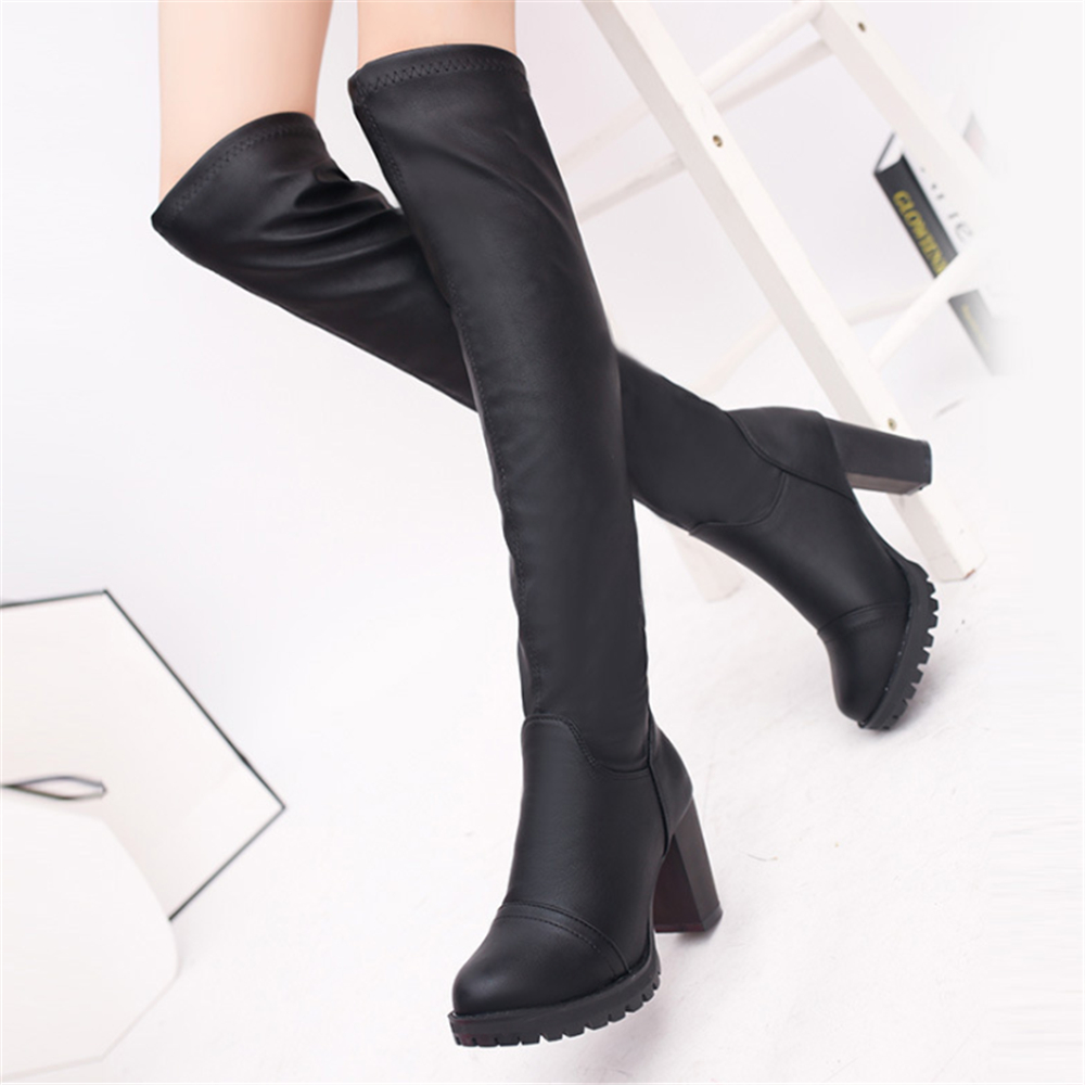 jianbudan new autumn and winter high heeled the