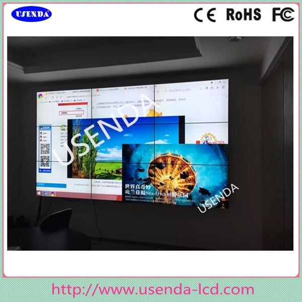 Super narrow bezel 1 8mm 55 lcd video wall with inbuilt controller software ect wholeset