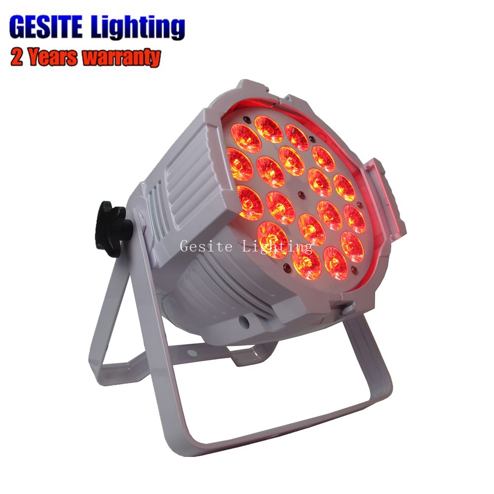 8 pcs lote mini led par pode 18x18 w rgbwa uv dmx luzes do palco luz