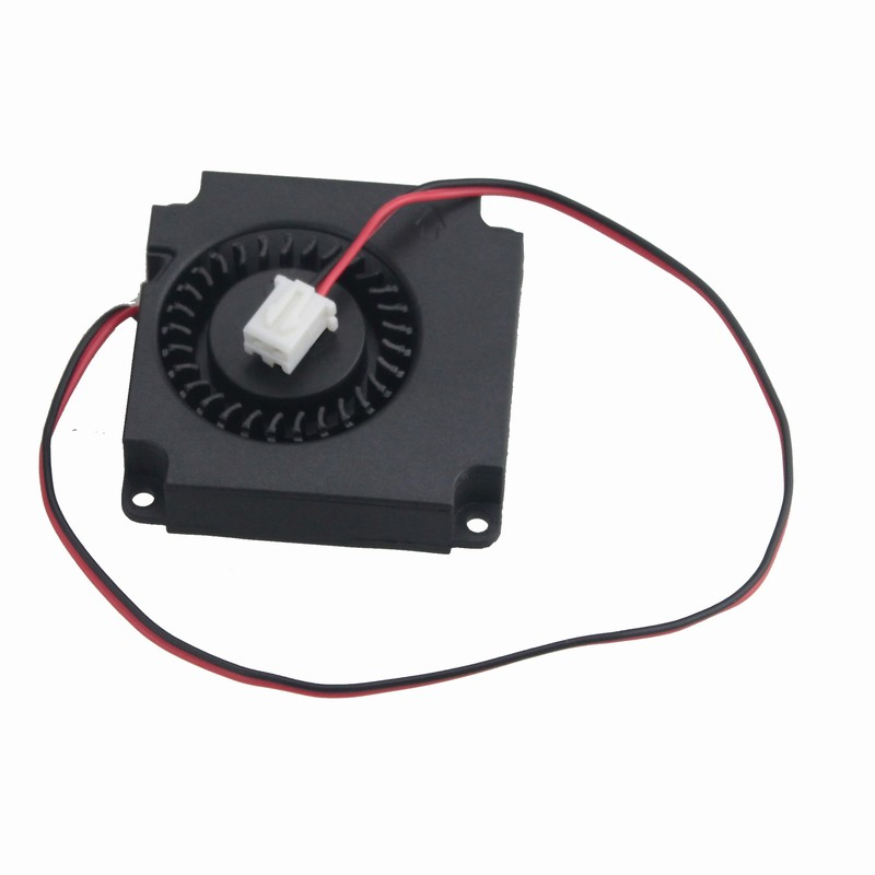 Купить с кэшбэком Gdstime 1 piece Ball Bearing 4cm 4010 40mm x 10mm DC 12V 3D Printer Turbo Blower Fan Cooling Radiator 40*40mm