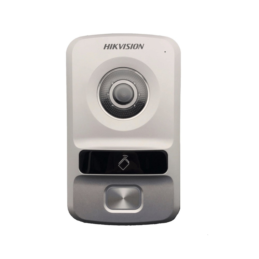 Hikvision HD villa type DS-KV8102-IP,WDR camera,HD Visual intercom doorbell waterproof, IC card,IP wired intercom