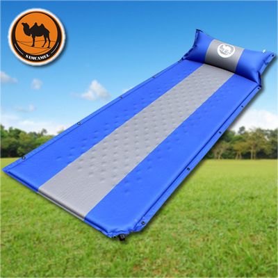 Automatic inflatable cushion, advanced widening air mattress, outdoor tent, camping lunch pad, dampproof picnic mat 3CM thick creeper bl q001 convenient outdoor self inflation dampproof dacron air cushion mat camouflage
