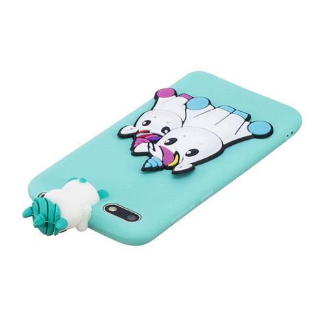 Huawei Y5 2018 Case on for Coque Huawei Y 5 Y5 prime 2018 Y5 Lite Y5 2019 Cover Cartoon 3D Doll Toys Candy Soft Silicone Cases Multan