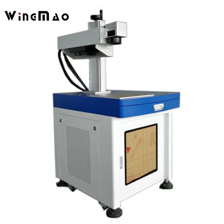 Китай УФ Бумага плиты волокна лазерной маркировки и печатная машина Пластик лазерной маркировки Мачин для продажи