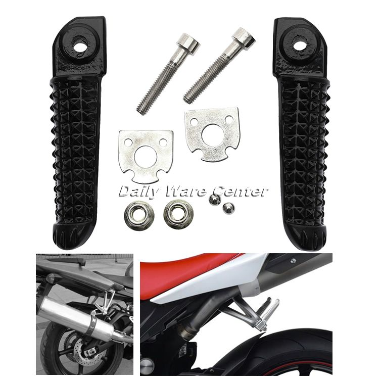 Motorcycle Rear Foot Pegs Rests Pedals Footpeg Footrest For Yamaha YZF R1 YZF-R6