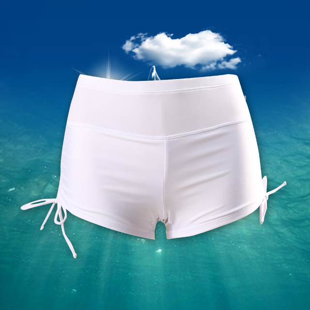 Summer Women's Beach Surfing Shorts Moisture Wicking Quick Dry Black Swim Shorty Shorts Pantalones Cortos Mujer