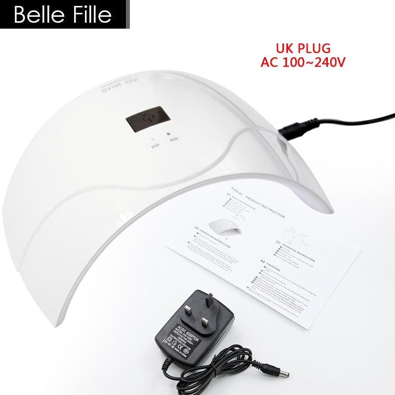 Belle Fille 24W ուլտրամանուշակագույն լամպի - Մանիկյուր - Լուսանկար 3