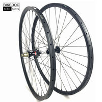 BIKEDOC 27mm*23mm Carbon Mtb Wheels 27.5er(650b) And 29er Carbon Wheels Tubular Mtb Bicycle Wheel