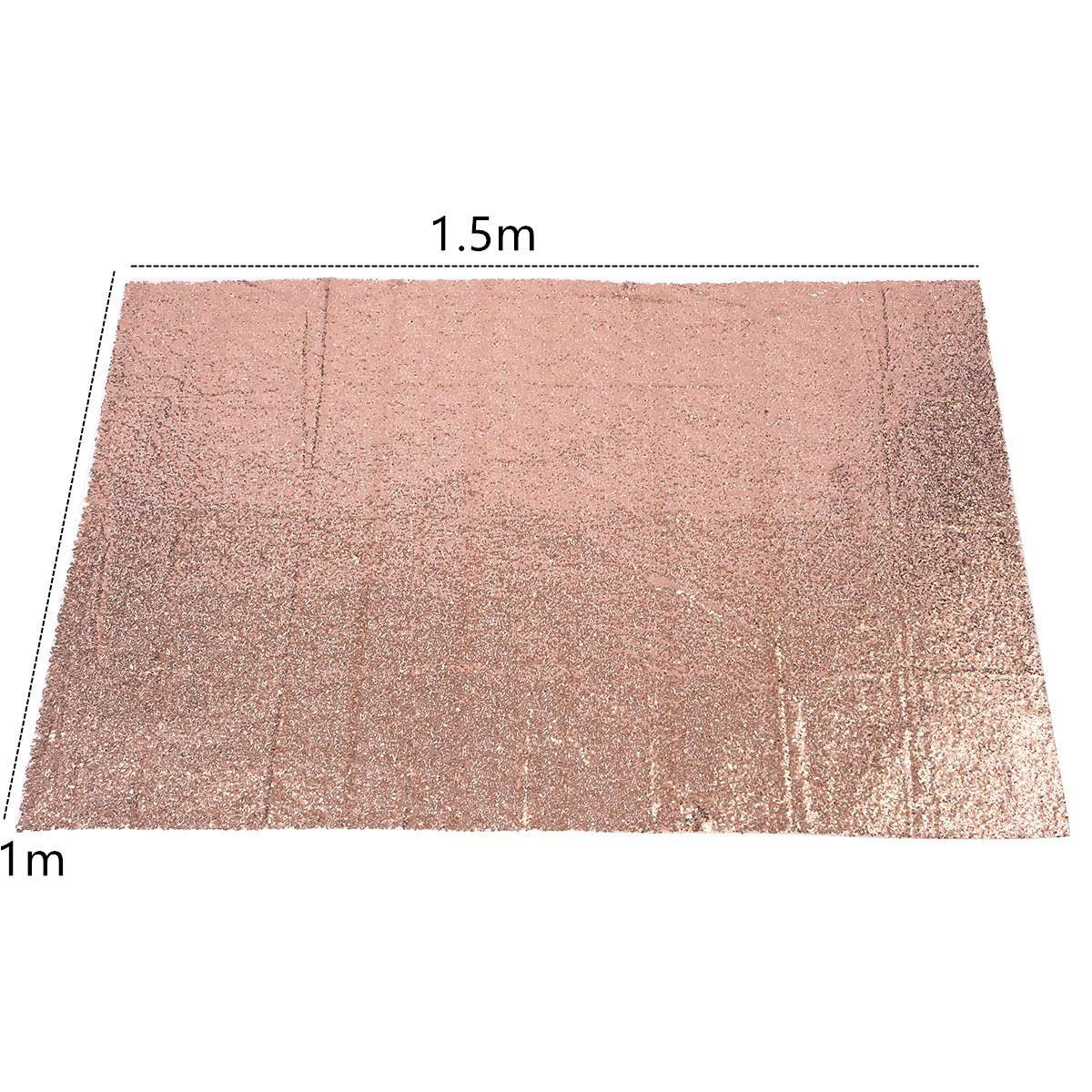 Rose Gold Sequins Cloth Wallpaper Background Photography Wedding Supplies 63 rose de mai