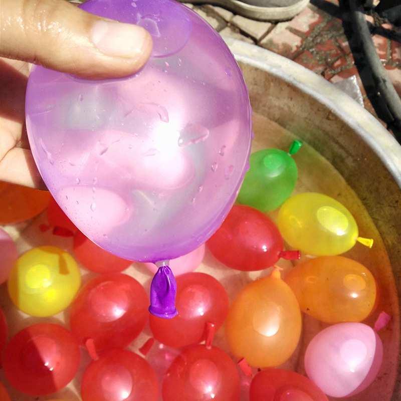 Jauni 120pcs ūdens bumbas baloni jaukti krāsaini bērni bērni puse smilšu spēles rotaļlietas bērniem dzimšanas dienas svinības kāzu Ziemassvētki