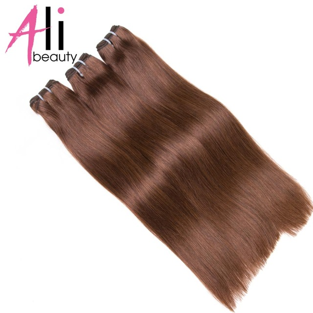Ali Beauty Straight Human Hair Extensions 100 Remy Human Hair Weft