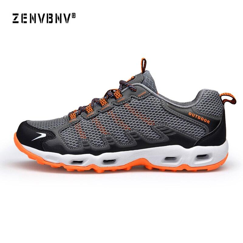 Zenvbnv 2018 hommes chaussures de course de haute qualité respirant Air Mesh pour hommes baskets multifonction chaussures de plein Air Max Air formateurs