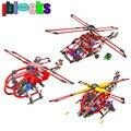 Motor eléctrico Helicóptero de Los Niños Educativos Bloques de Construcción Palo Aviones Assemblage Juguetes de Aprendizaje Para Los Niños