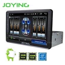 """Nuevo 8 """"JOYING Individual 1 DIN 2 GB Ram Android Universal Car Radio estéreo del GPS Navi Unidad Principal Con Amplificador Incorporado y Salida De Vídeo"""