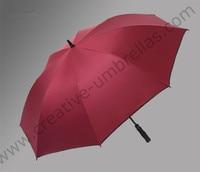 2pcs/lot 135cm 4 persons Anti UV five times black coating fiberglass auto open business anti-thunder outdoor sport golf umbrella