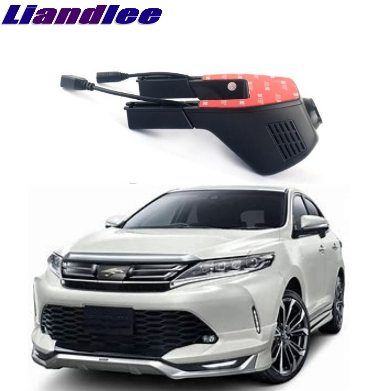 Liandlee For Toyota Harrier 2013~2018 Car Black Box WiFi DVR Dash Camera Driving Video Recorder novovisu car black box wifi dvr dash camera driving video recorder for buick encore for opel for vauxhall mokka 2013 2017